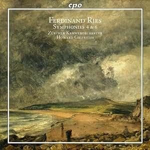 F.リース:交響曲 第4番ヘ長調 Op.110/同 第6番ニ長調 Op.146