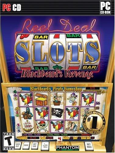 PHANTOM EFX REEL DEAL SLOTS BLACKBEARD'S REVENGE - Standard Edition