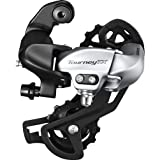 Shimano Rear DERAILLEUR, RD-TX800, Tourney TX, 7/8-SPEED, Dire (Color: Silver, Tamaño: 7/8 Speed)