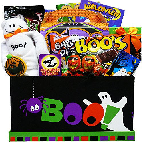 Art of Appreciation Gift Baskets Boo To You Halloween Candy Care Package Gift Box