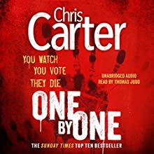 One by One Audiobook by Chris Carter Narrated by Thomas Judd
