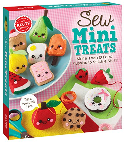 Klutz Sew Mini Treats Book Kit-, otros, multicolor