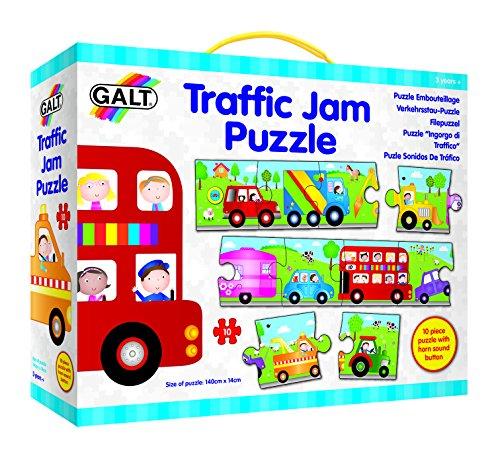 Galt - Puzzle con sonidos de tráfico, 10 piezas ( 504465)