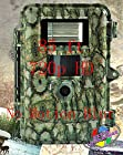 85ft, No Blur ScoutGuard SG565F-8mHD White Flash Night Color Trail Scouting Hunting Game Camera