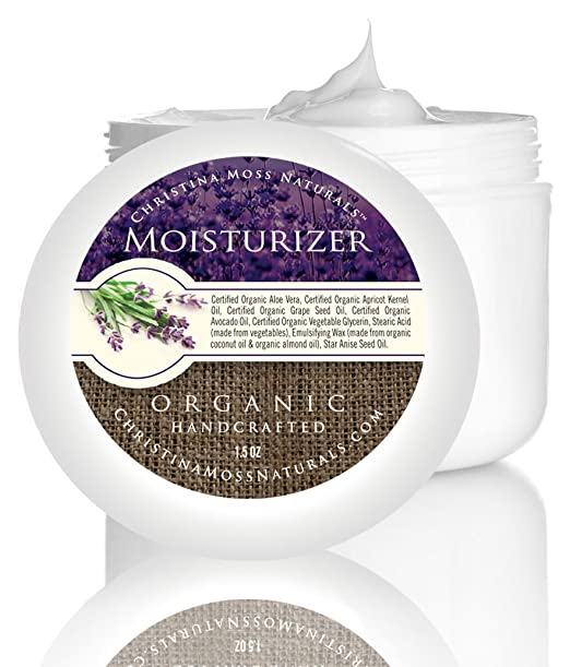 Christina Moss Naturals Organic Moisturizer Reviews