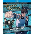 The Legend of Korra: Book 1 - Air [Blu-ray] (Bilingual)