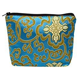 Product Image Global Girlfriend Silken Strength Pouch - Turquoise