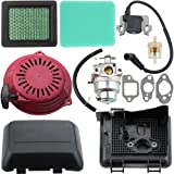 Dalom GCV160 Carburetor + Recoil Starter + Ignition Coil + Air Filter Cover Tune Up Kit for Honda GCV160A GCV160LA GCV160LE Engine