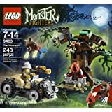 Game / Play LEGO Monster Fighters 9463 The Werewolf. Minifigure Playset Collectible Toys Characters Toy / Child...