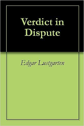 Verdict in Dispute