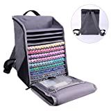 Togood Ultra-Large Storage Marker Pens Backpack, Shoulder Bag for Pens. Up to 300pcs pens (Color: BACKPACK)
