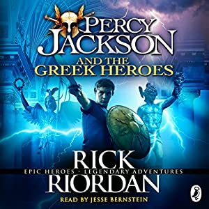 Percy Jackson and the Greek Heroes Audiobook