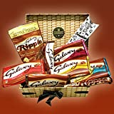 Galaxy Chocolate Lovers Treasure Hamper Gift Box - Bars,...