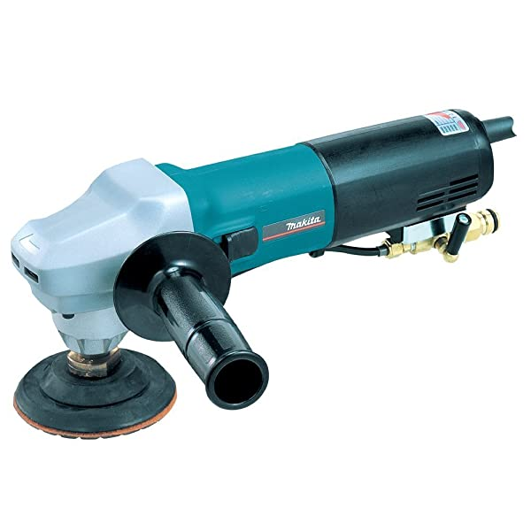 Makita PW5001C 4-Inch Hook and Loop Electronic Wet Stone Polisher (Color: Teal)