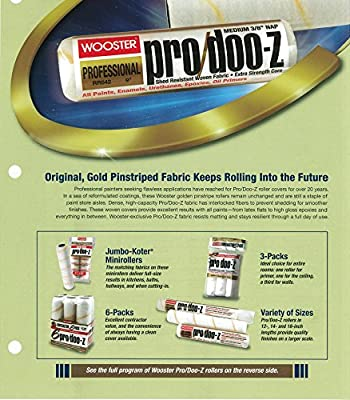 Wooster Brush Pro/Doo-Z Roller Cover 3/8-Inch Nap