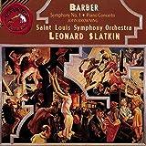 Barber: Piano Concerto; Symphony No. 1; Souvenirs