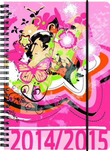 Brunnen SchülerkalenderA5 - 2014/2015 Flora - 18 Monate Kalender 1 Wo/2 Seiten