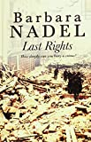 Last Rights (Ulverscroft Large Print) (1846173663) by Nadel, Barbara