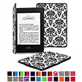 Fintie Kindle Paperwhite SmartShell Case - The Thinnest and Lightest Leather Cover for All-New Amazon Kindle Paperwhite (Fits All versions: 2012, 2013, 2014 and 2015 All-New 300 PPI Versions with 6