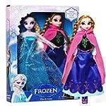 "Frozen Princess Elsa & Anna 12"" Doll..."