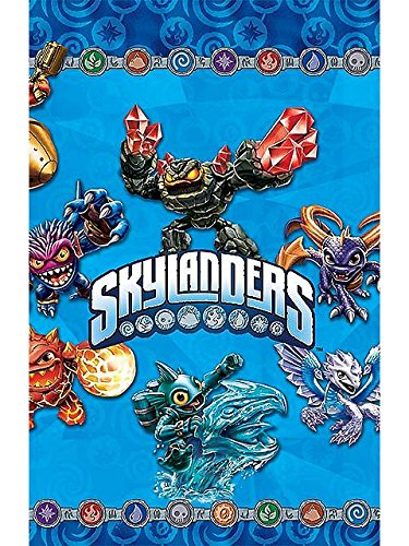 Skylanders Plastic Table Cover (Each) - Party Supplies