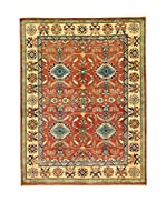 L'EDEN DEL TAPPETO Alfombra Uzebekistan Rojo/Multicolor 150 x 200 cm