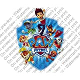 PAW PATROL Cake Topper Edible Image Picture Frosting Sheet Cake Topper