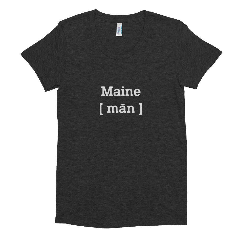 Maine Womens T Shirt
