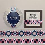 Pavilio レーステープ フラワーピンク 2種セット