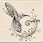 Inkadinkado Hummingbird Wood Stamp