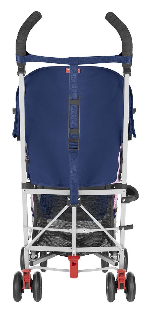 Maclaren Globetrotter Stroller- Medieval Blue/festival Fuchsia