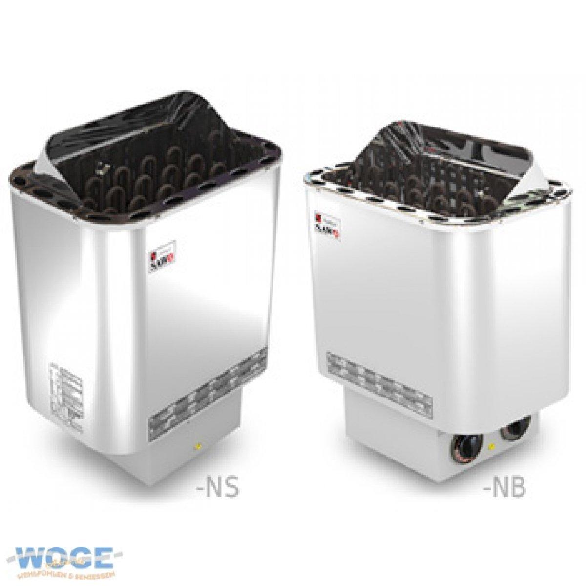 Saunaofen Nordex 9 kW Außenmantel Edelstahl, ohne Saunasteine, ohne Steuerung  BaumarktÜberprüfung und weitere Informationen