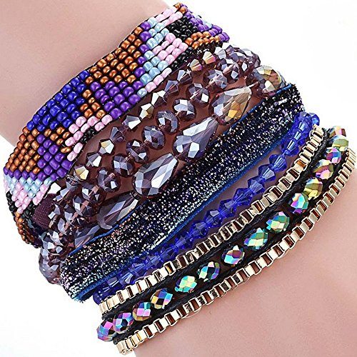 the-starry-night-beads-hand-woven-brazil-multi-layer-mixed-color-joker-alloy-magnetic-buckle-bracele