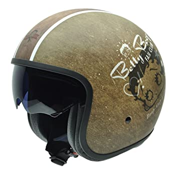 NZI 050295G775 Rolling Fanclub By Betty Boop, Casque de Moto, Taille S Multicouleur