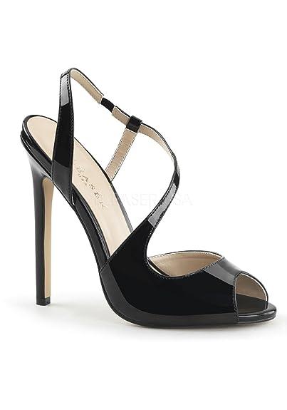 Pleaser masturbateur sEXY - 10 stiletto heel, 35-44 élégantes vernies noir