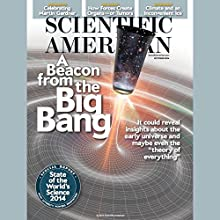 Scientific American, October 2014  by Scientific American Narrated by Mark Moran