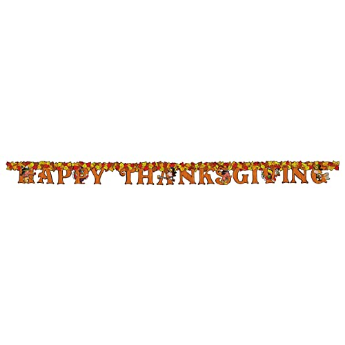 Happy Thanksgiving Streamer Party Accessory (1 count) (1/Pkg)