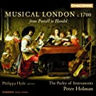 Various: Musical London C1700 (Works By Purcell, Draghi, Courteville, Matteis, Croft)