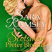 Scotsmen Prefer Blondes Audiobook by Sara Ramsey Narrated by Emma Powell