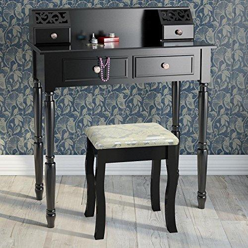 schminktisch frisierkommode inkl hocker sekret r farbwahl. Black Bedroom Furniture Sets. Home Design Ideas