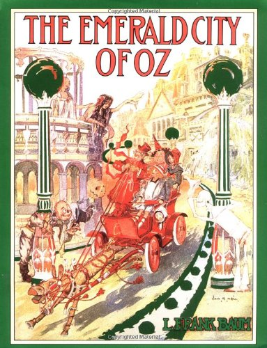 Cover of The Emerald City of Oz (Books of Wonder)