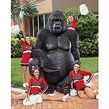 Giant Male Silverback Gorilla Design Gorilla Statue Giant Gorilla