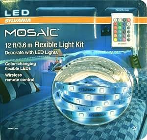 Amazon Com Sylvania Mosaic 12 Ft 3 6 M Flexible Led Light