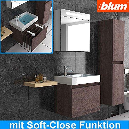 waschbecken und unterschrank badm bel waschplatz modell lugano 600 badezimmer m bel. Black Bedroom Furniture Sets. Home Design Ideas