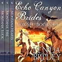 Echo Canyon Brides Box Set: Books 4-6 Audiobook by Linda Bridey Narrated by Lawrence D. Yaklin