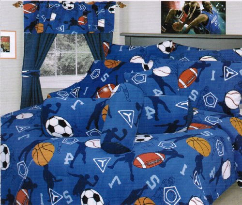 Baseball Bedding Twin 5891 front