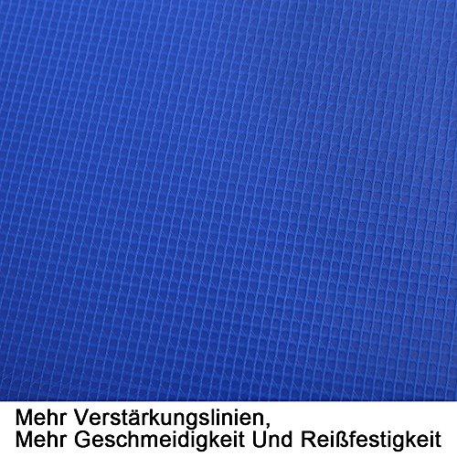 Songmics® Trampolin Federabdeckung Randschutz Randabdeckung Blau für Trampolin Mit Ø 487cm STP16FT -