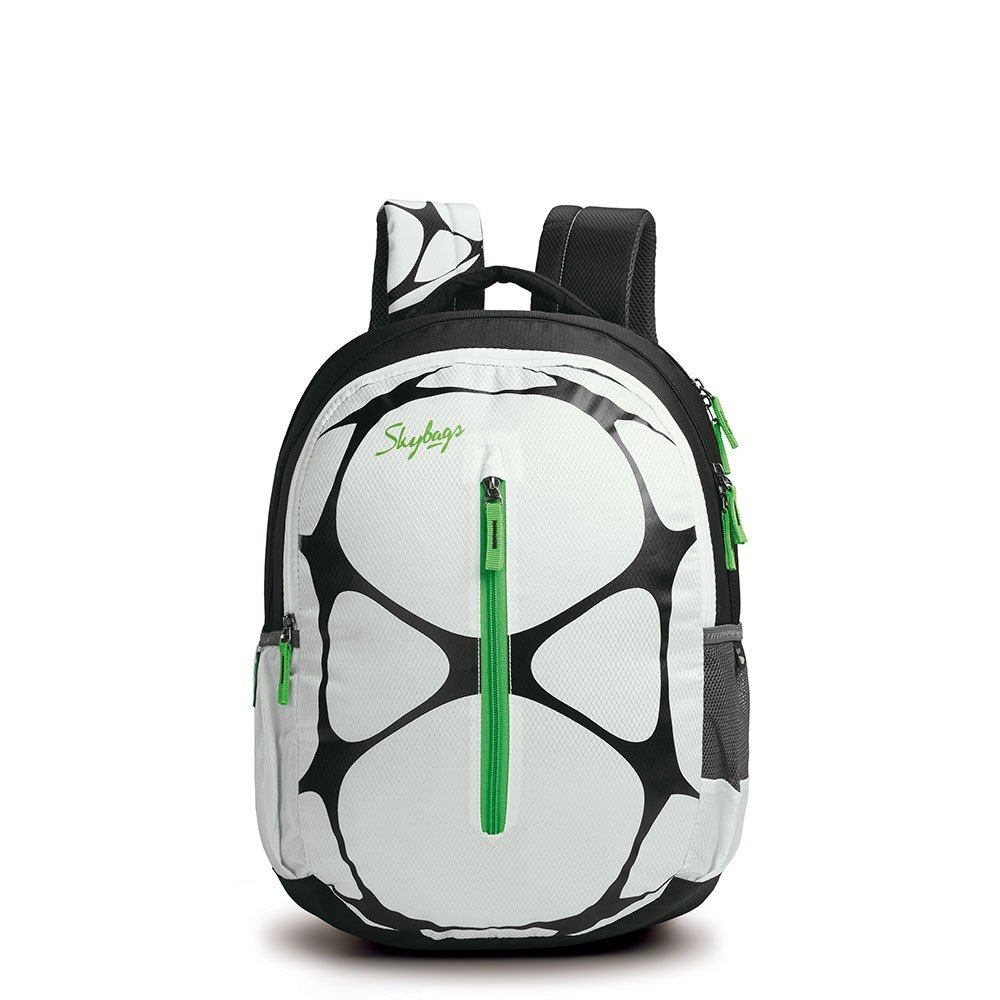 School bags online cash on delivery - Skybags Pogo 02 _ 32 Ltrs White School Bag