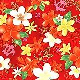 キャシー中島のハワイアンプリント生地  メリア(20092-30) ※価格は、10cmの価格。ご注文は、50cmから10cm単位で承ります。 Kathy Mom ルシアン LECIEN アイランドスタイル 布・生地