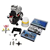 Chloe Rossetti Airbrush Compressor Set with 3 Pistols 1' x 5.9
